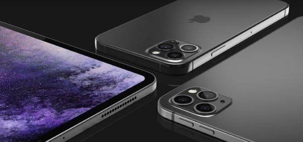 Mockup de iPad Pro com três câmeras