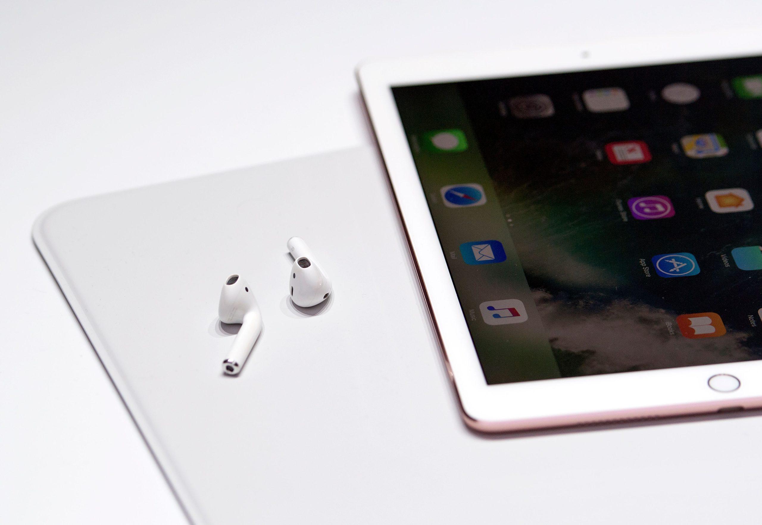 AirPods e iPad