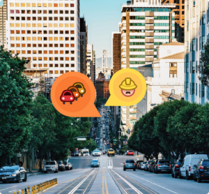 Imagem promocional do Waze