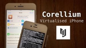 Plataforma de virtualização do iOS da Corellium