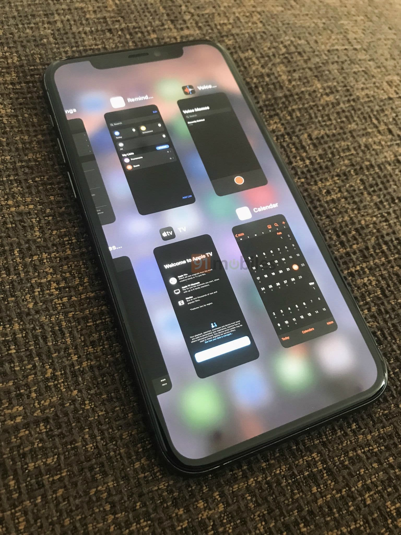 Multitarefa do iPad no iPhone