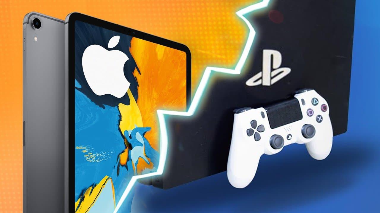 iPad Pro vs. PS4