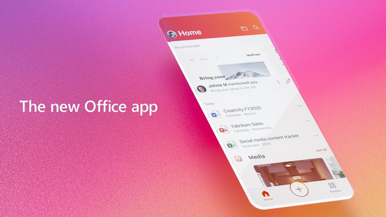 Novo Office para iOS