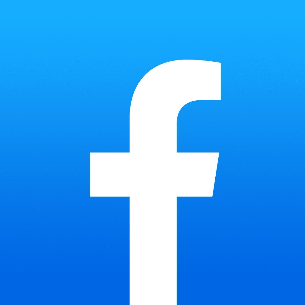 Ícone do app do Facebook para iOS