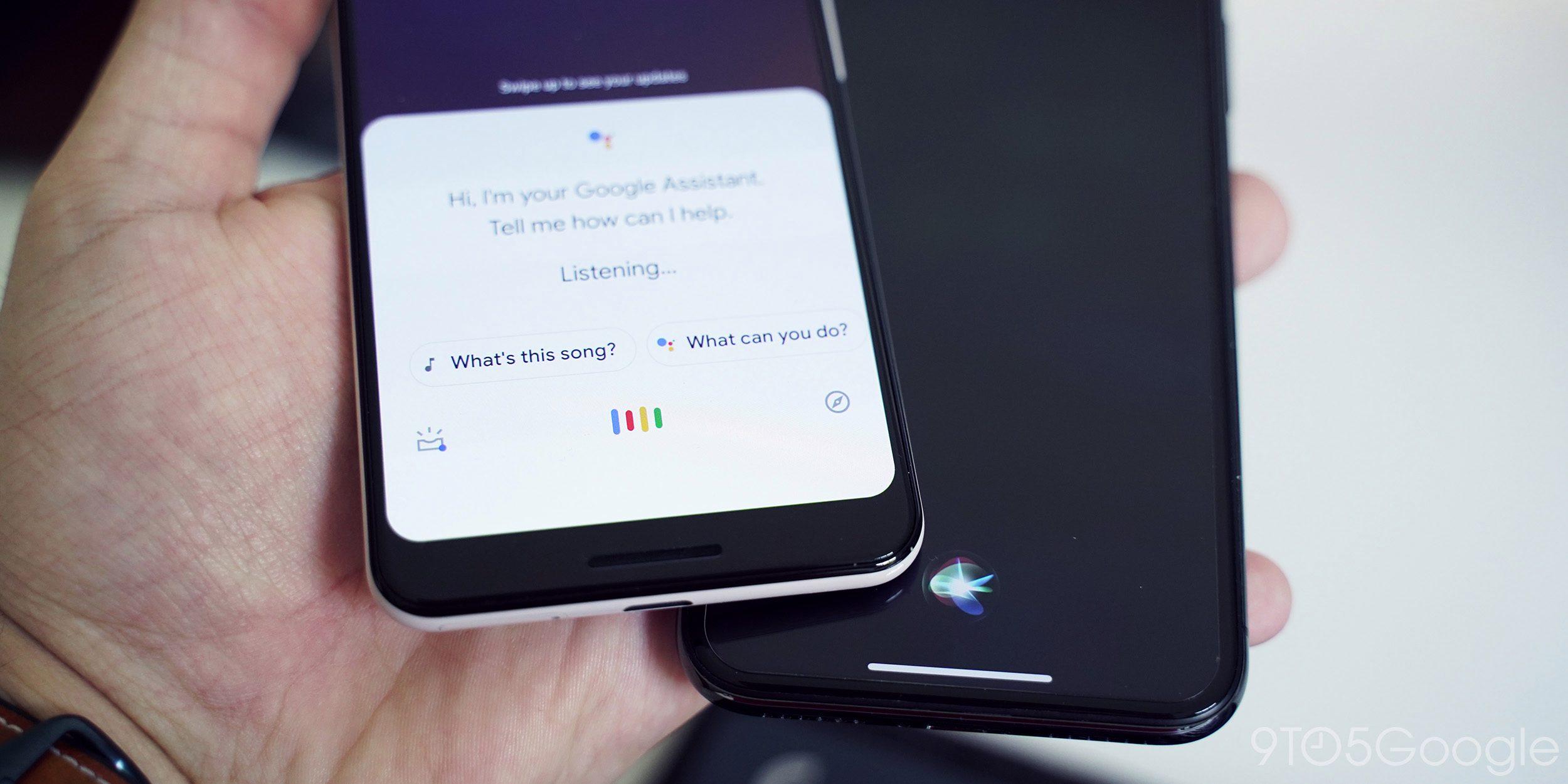 Siri e Google Assistente
