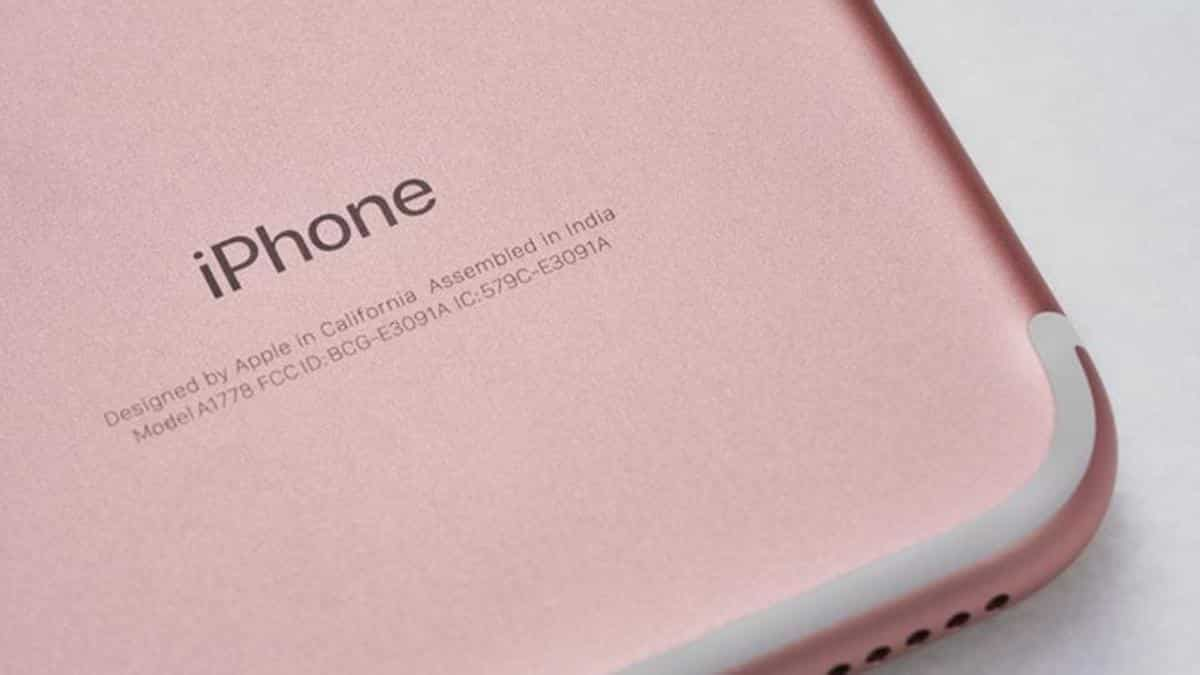 iPhone feito na Índia