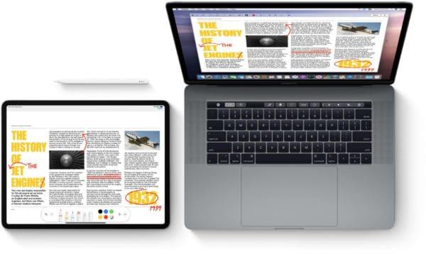 MacBook Pro e iPad
