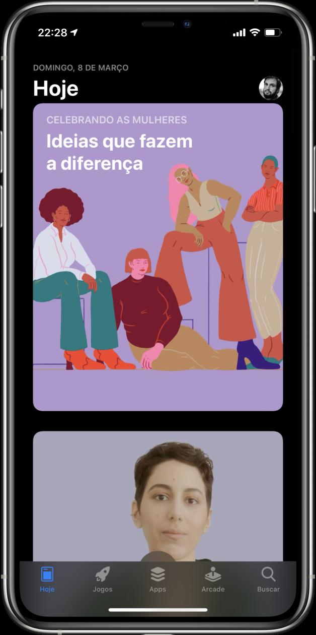 Dia Internacional da Mulher na App Store