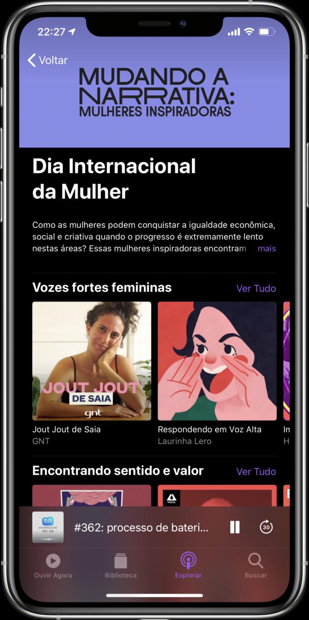 Dia Internacional da Mulher no Apple Podcasts