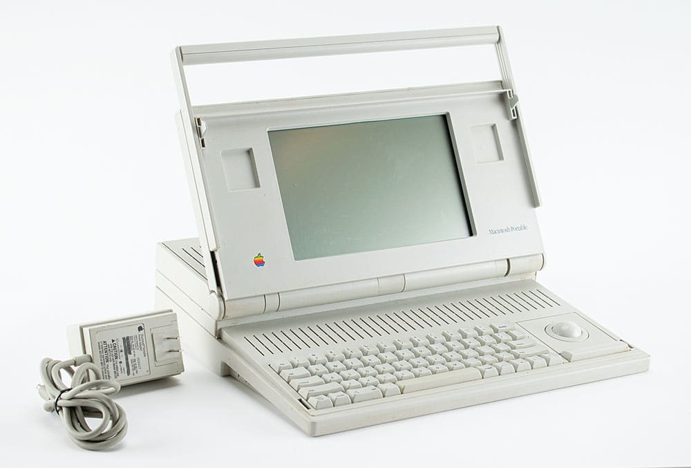 Leilão: Macintosh Portable M5120