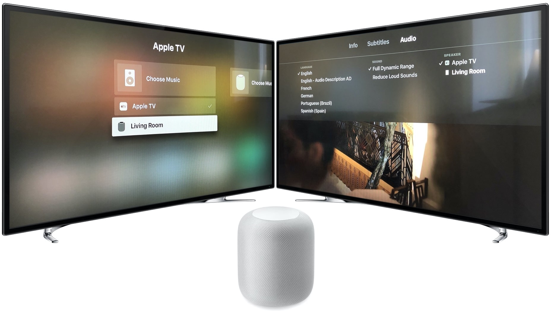 HomePod e Apple TV