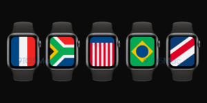 "Mostrador ""Internacional"" do watchOS 7"