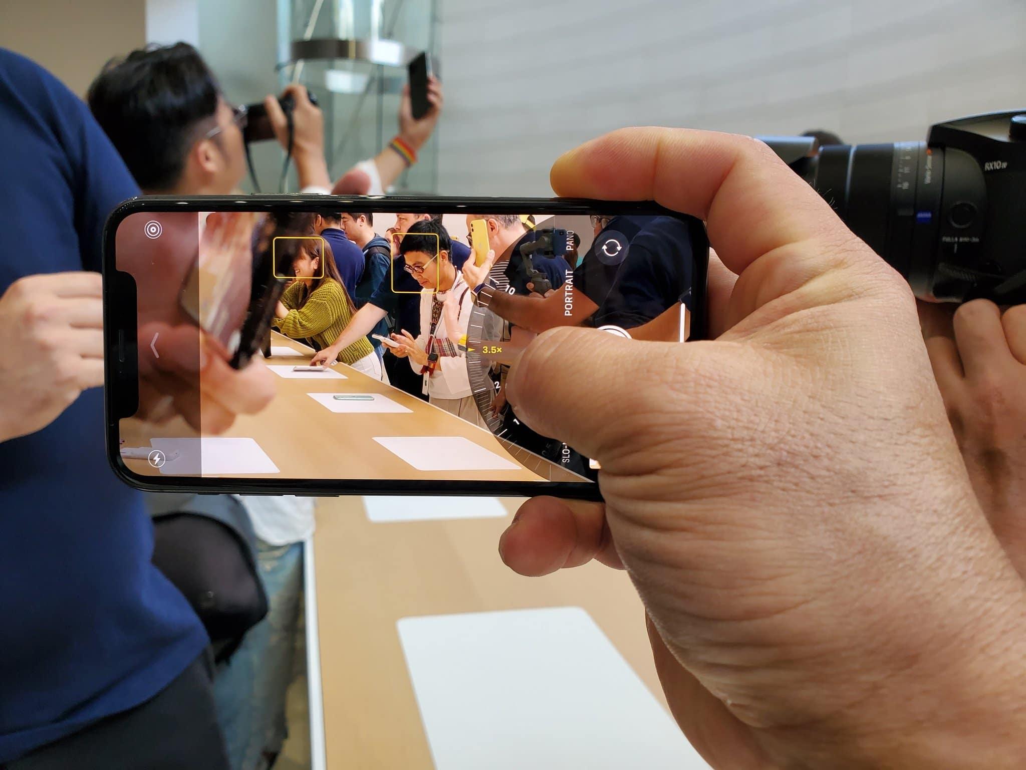 Câmera do iPhone