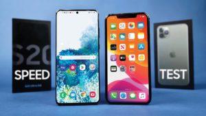 Teste de velocidade: Galaxy S20 Ultra x iPhone 11 Pro Max