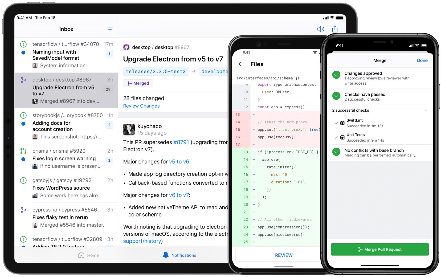 GitHub para iOS