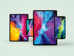 Wallpapers dos novos iPads Pro