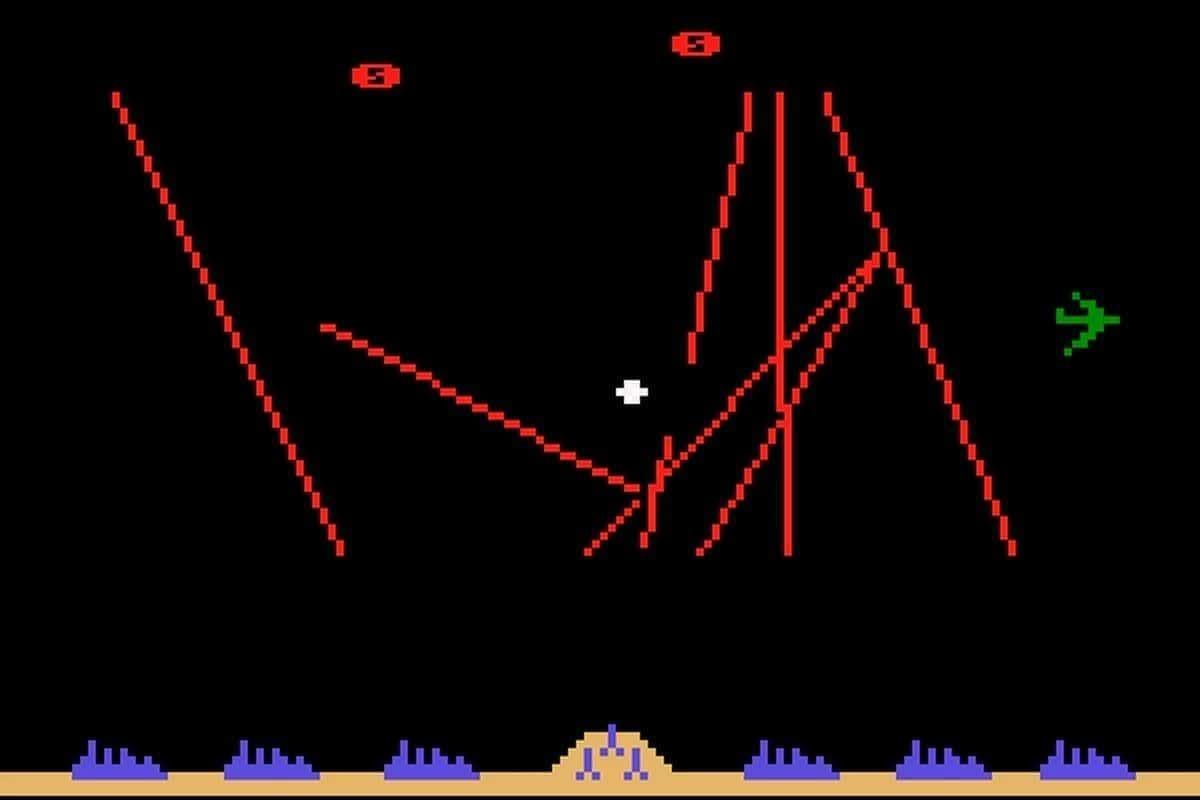 Missile Command, jogo da Atari