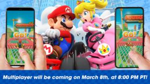Anúncio da Nintendo para Mario Kart Tour