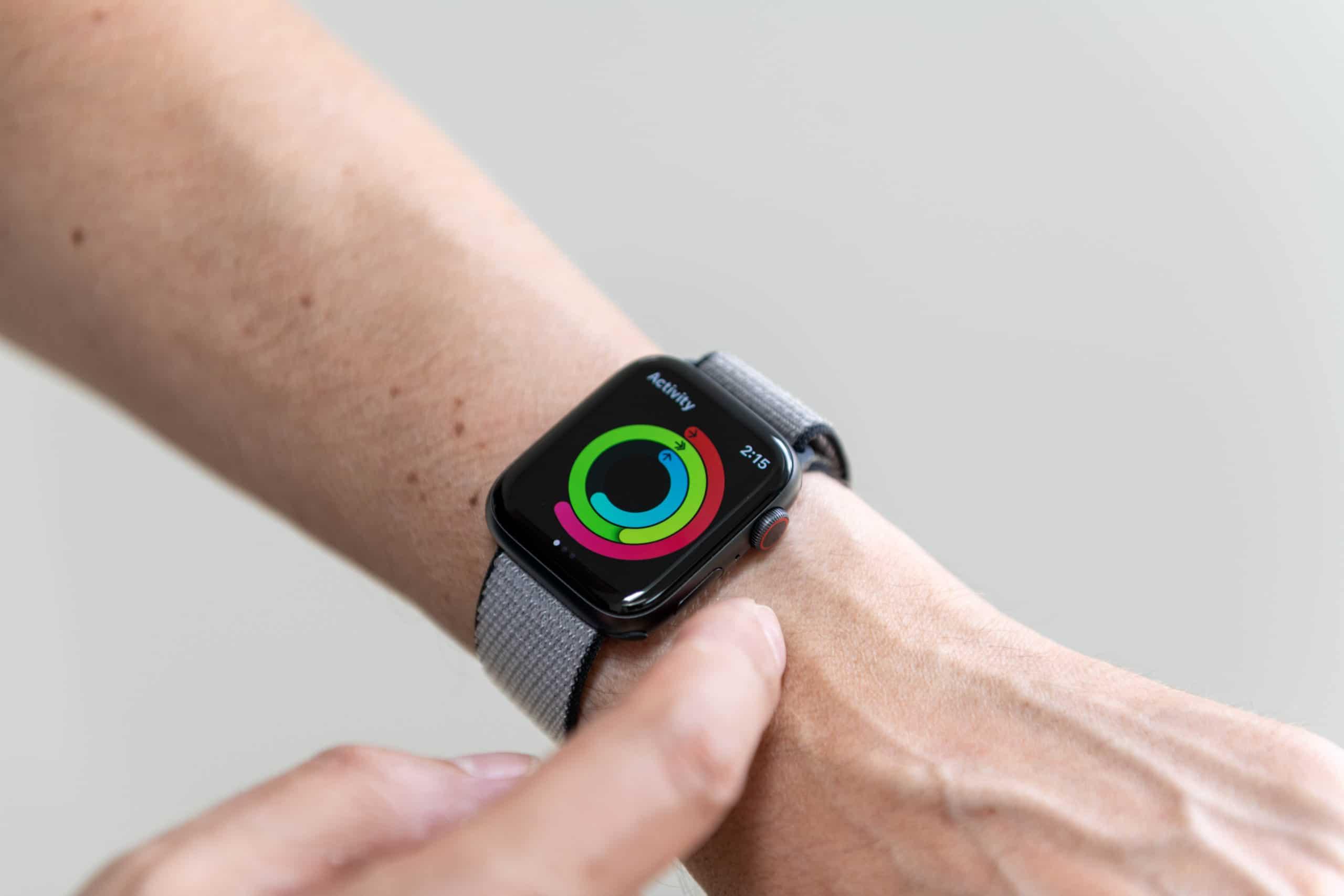 Anéis do Apple Watch
