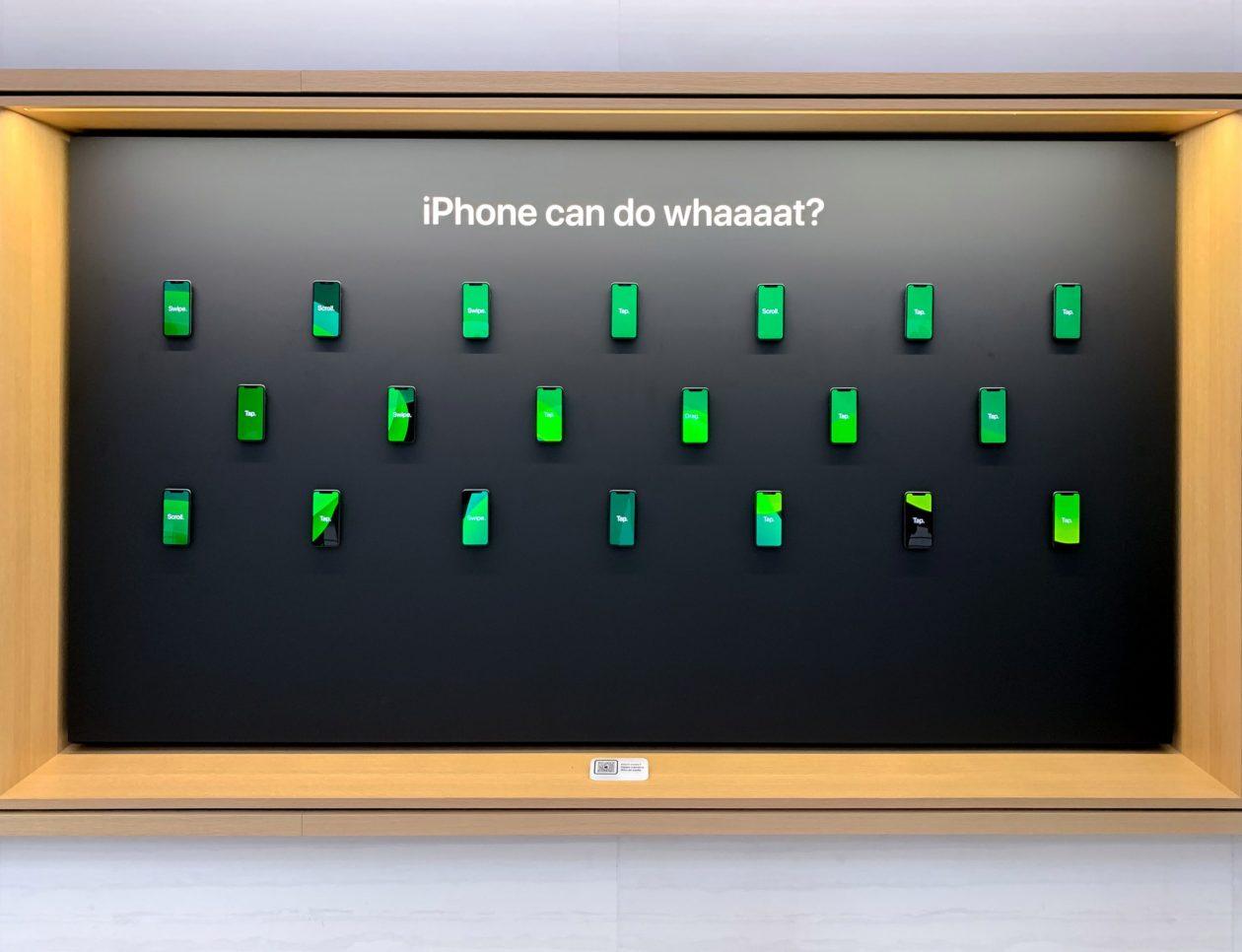Display de iPhones
