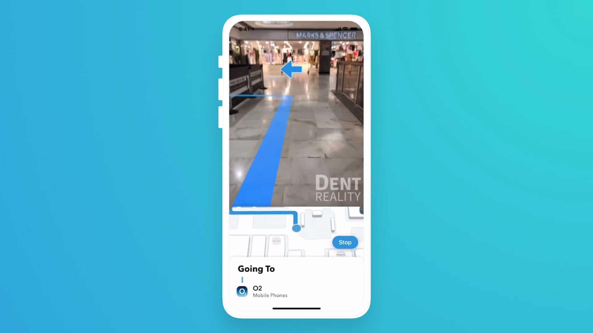 Dent Reality, startup de navegação interna