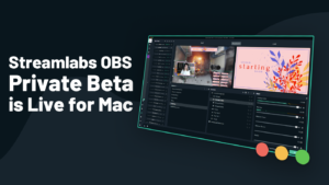 Streamlabs para Mac