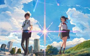 """""""Your Name"""", do diretor Makoto Shinkai"""