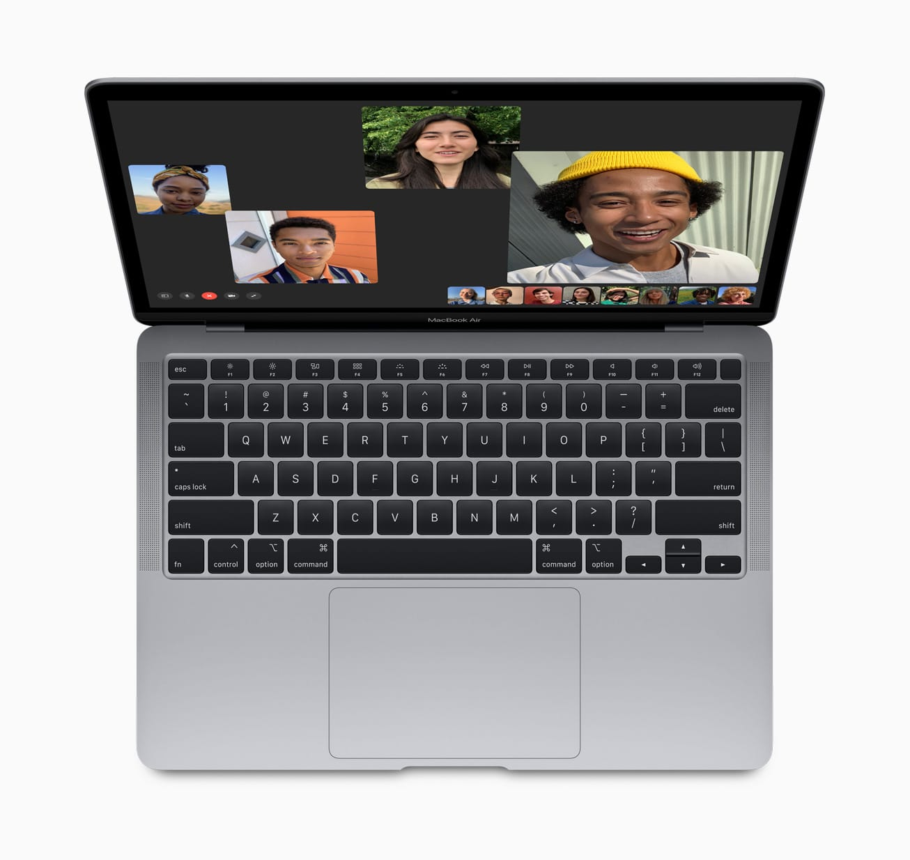 Novo MacBook Air rodando o FaceTime