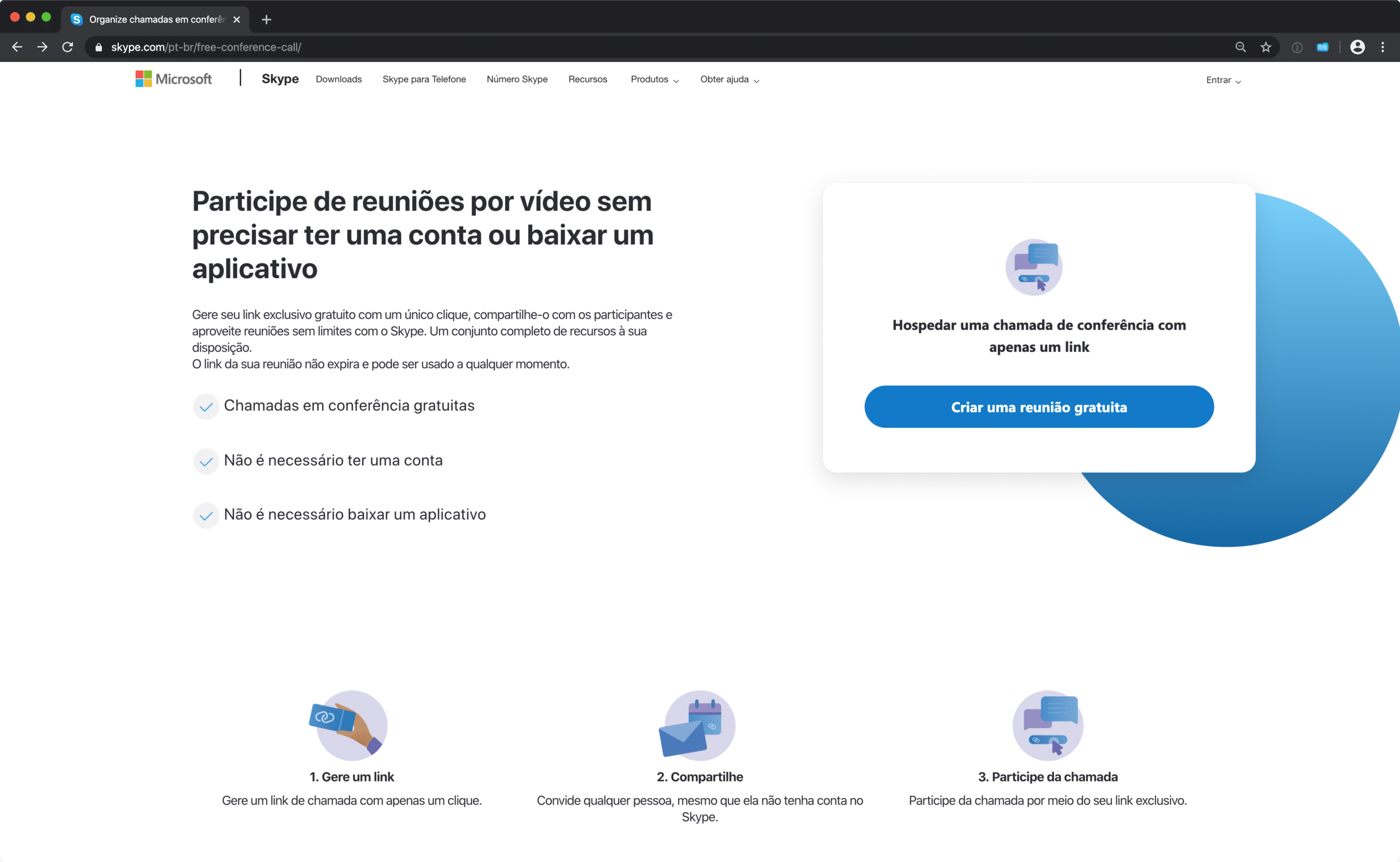 Meet Now, nova ferramenta do Skype