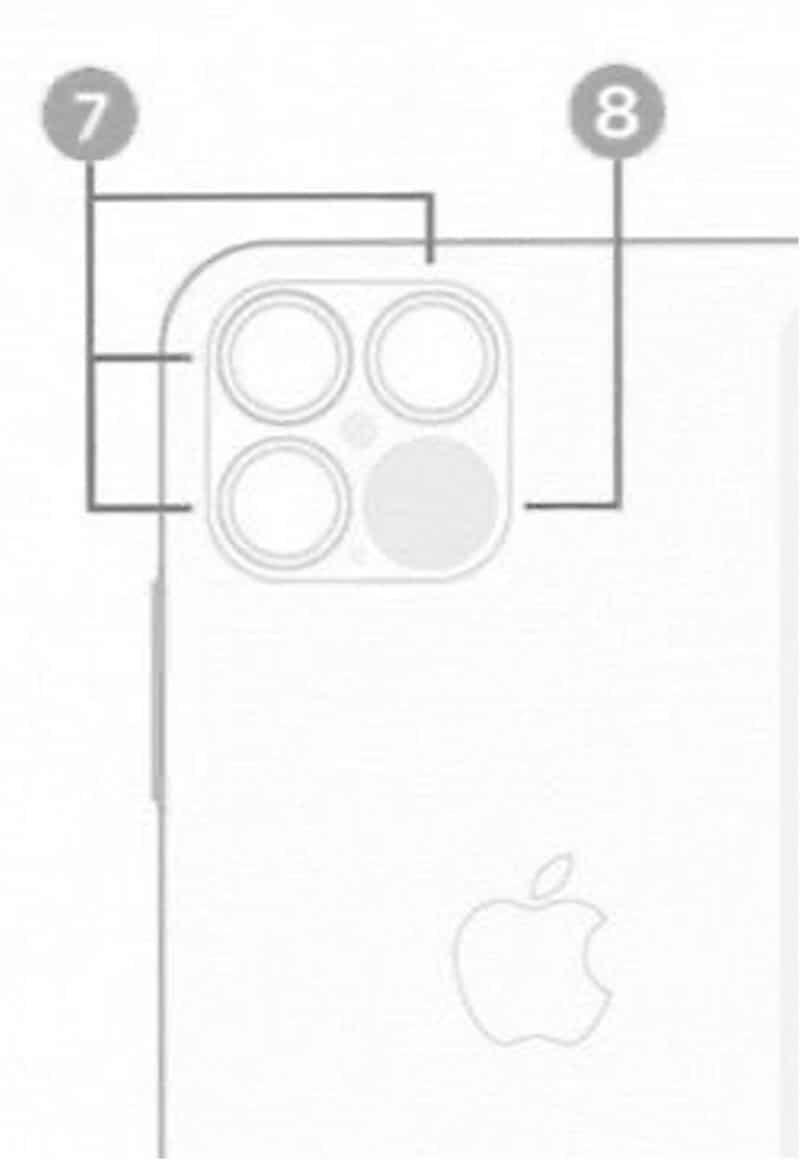 "Scanner LiDAR do ""iPhone 12 Pro"""