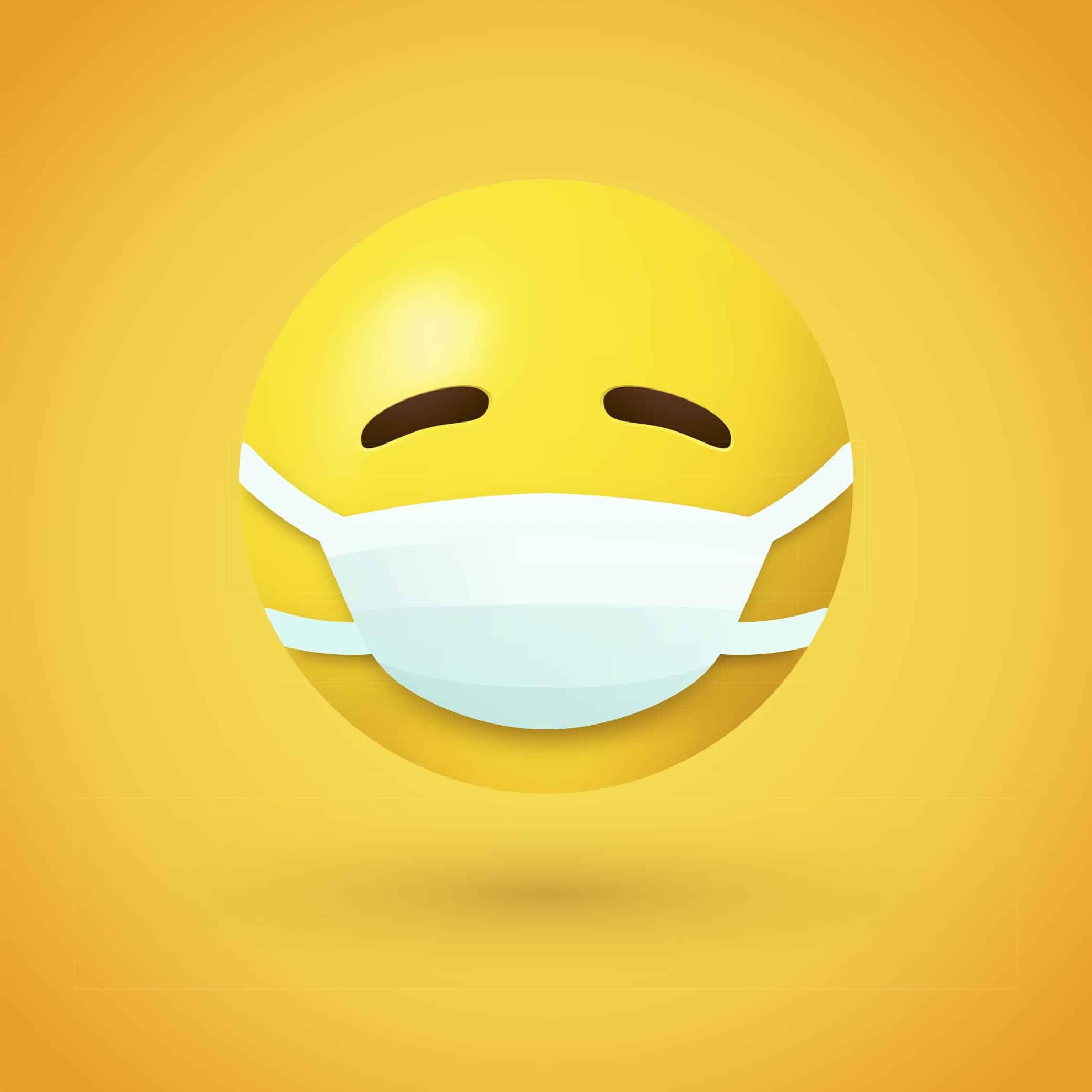 Emoji de máscara