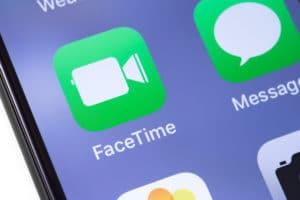 Ícones do FaceTime e do Mensagens