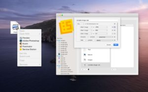 Aplicativo Service Station para macOS