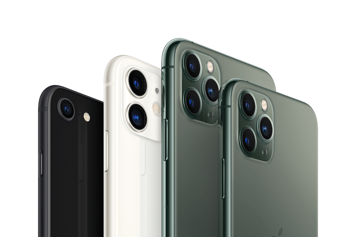 Família de iPhones