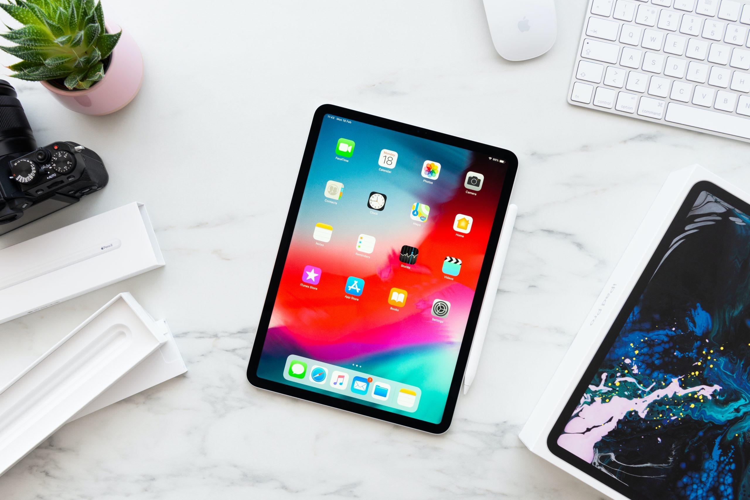 iPad Pro em mesa