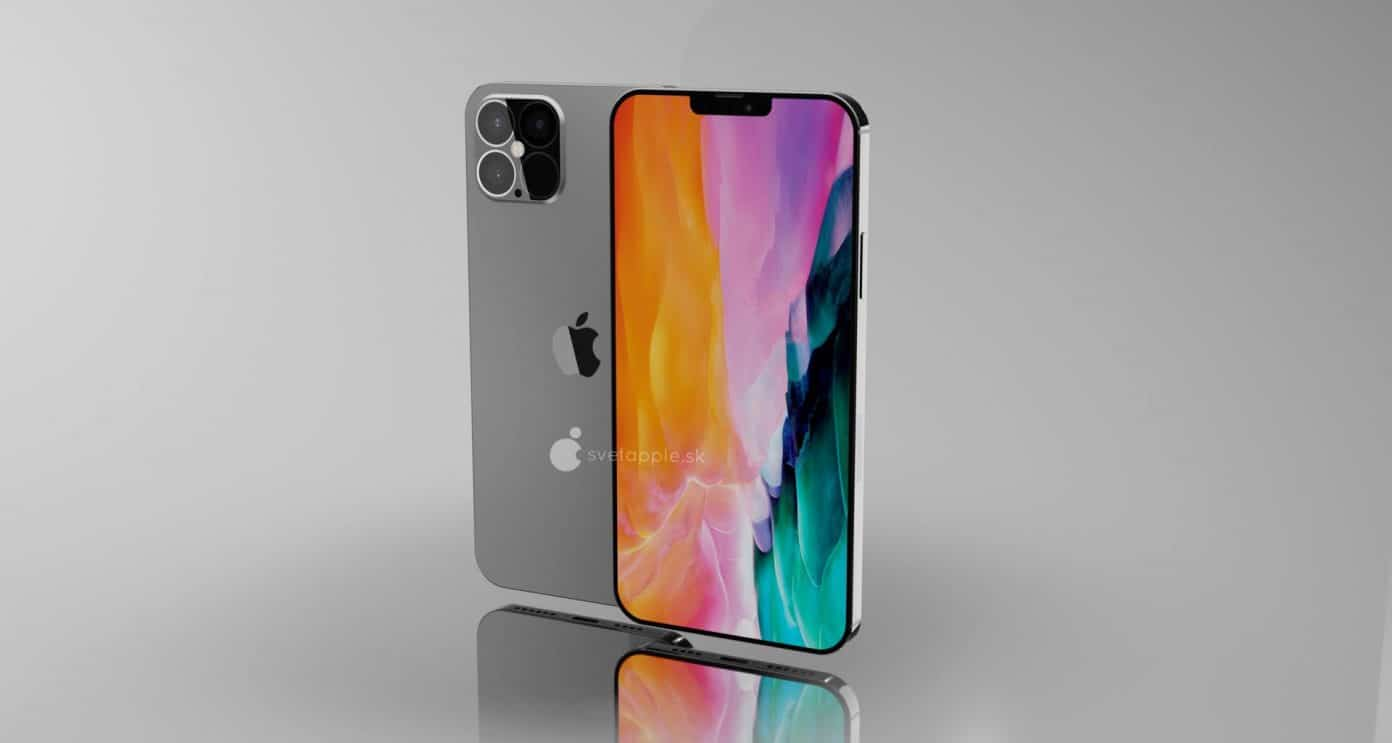 "Render da família do ""iPhone 12"""