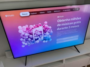 Apple Music na Smart TV da Samsung