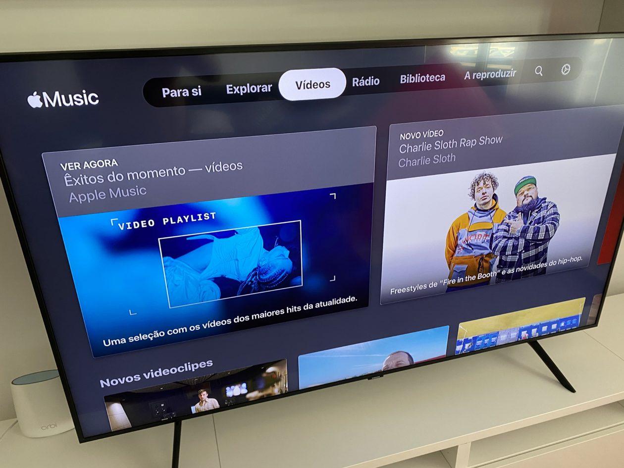Apple Music na Smart TV da Samsung