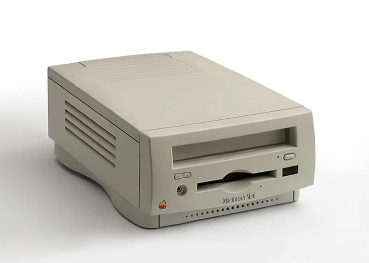 "Conceito de ""Macintosh Mini"""