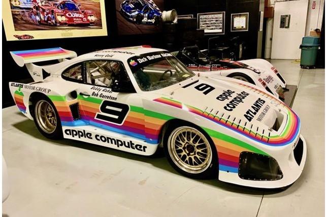 Réplica de Porsche patrocinado pela Apple em 1980