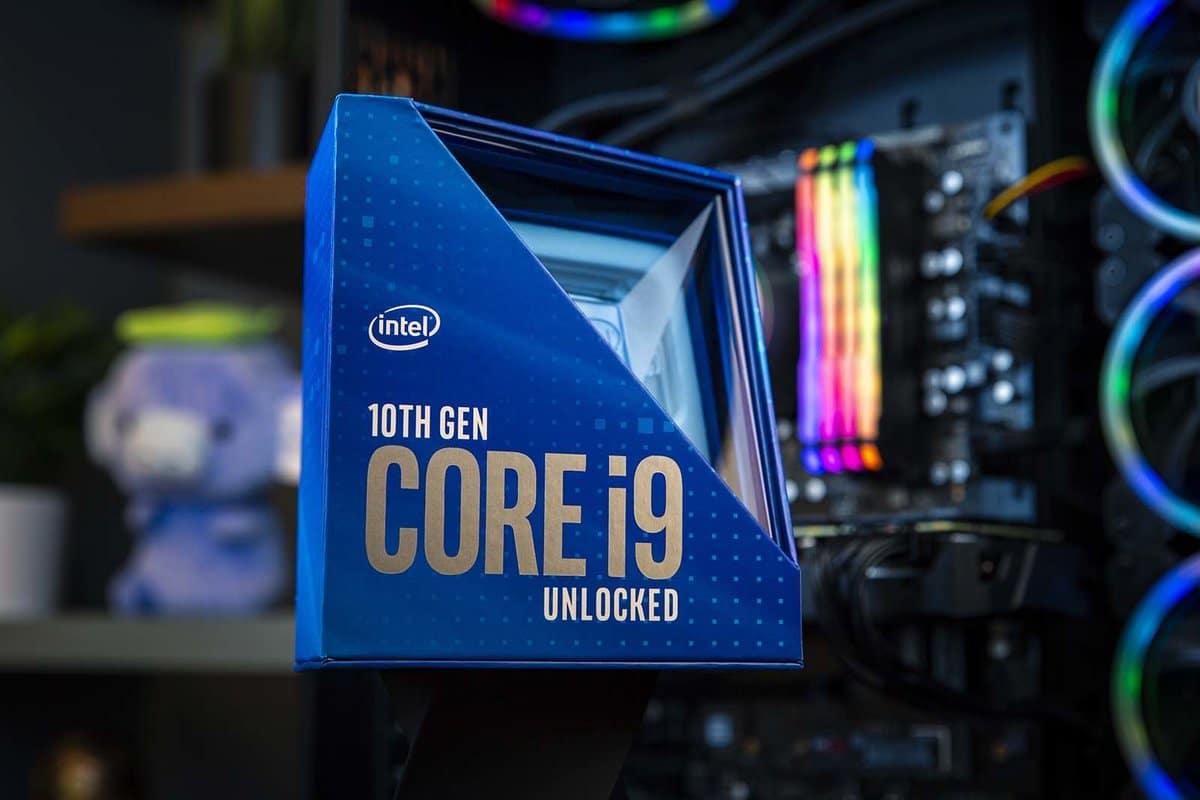 Novos processadores de 10ª geração da Intel