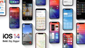 Novo conceito do iOS 14