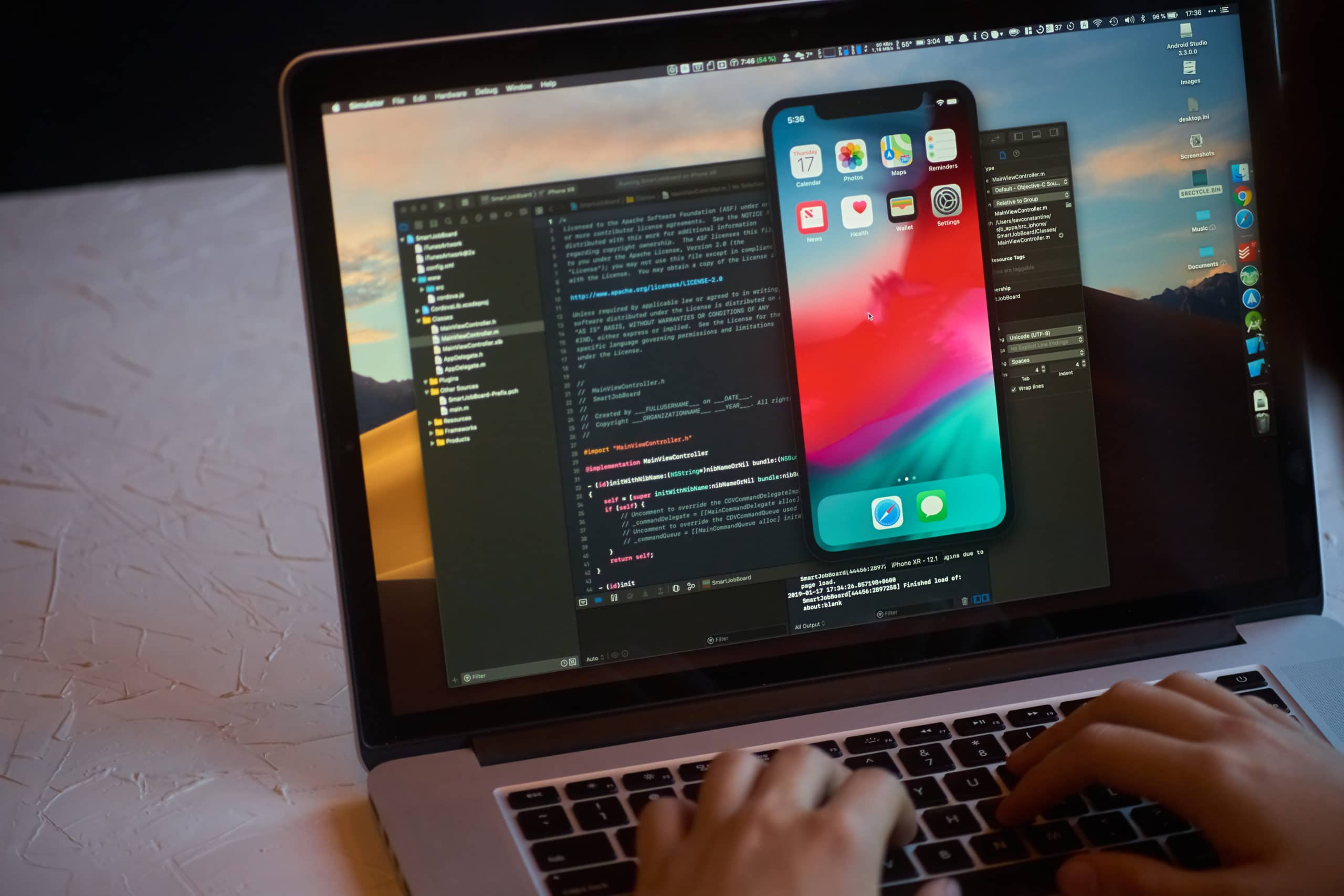 Código do iOS