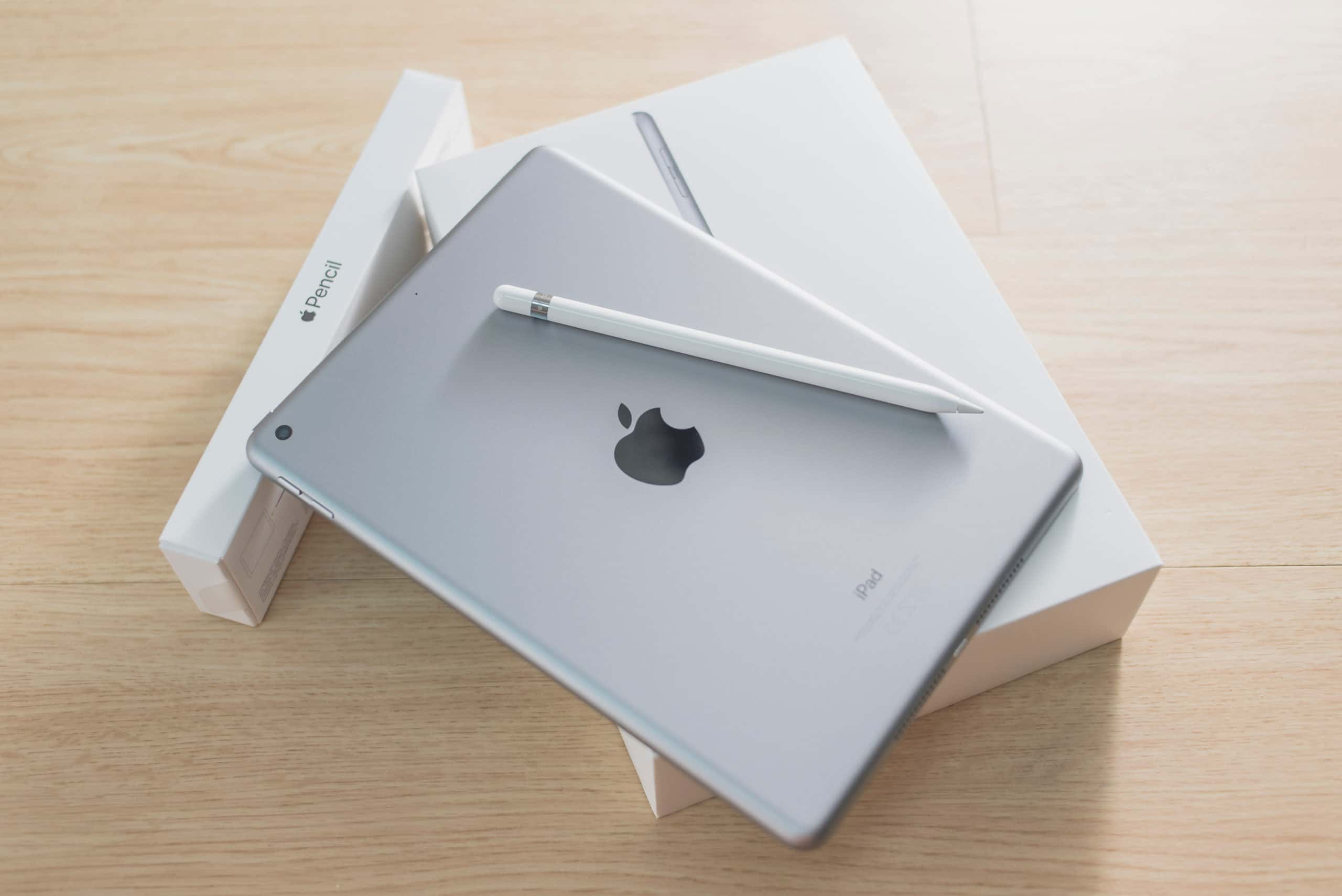 iPad e Apple Pencil