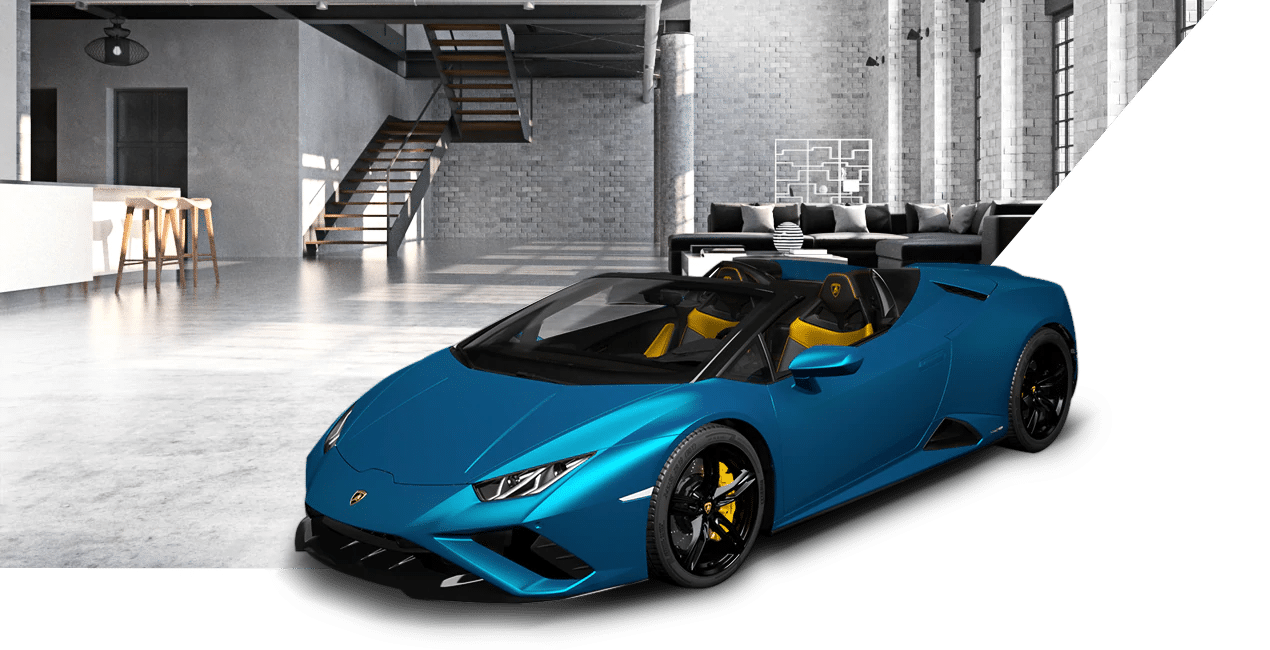 Lamborghini Huracán EVO RWD Spyder em AR