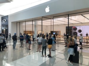 Reabertura de Apple Store na Austrália