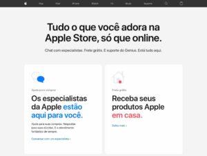 """Hub"" de varejo da Apple"