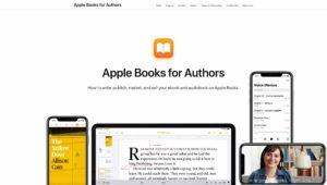 Página Apple Books for Authors