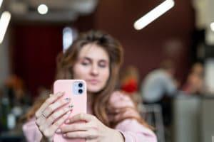 Selfie com o iPhone 11