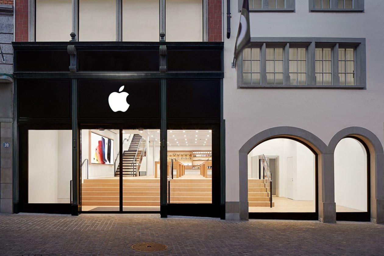 Apple Rennweg, em Zurique